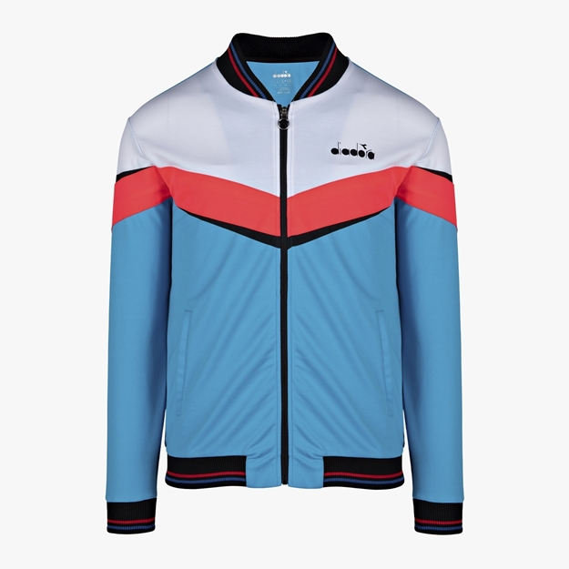 Immagine di DIADORA FZ JACKET BRIGHT CYAN BLUE