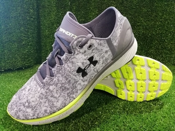 Immagine di UNDER ARMOUR SCARPA UOMO RUNNING CHARGED 3000359  101 GREY - LEMON