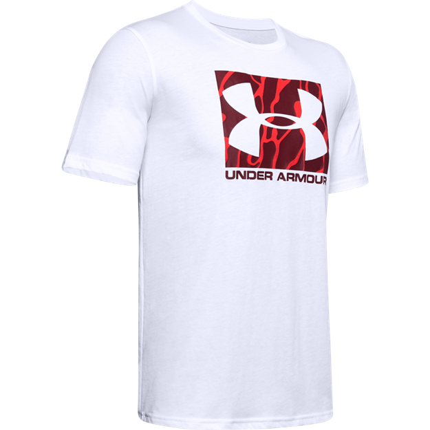 Immagine di UNDER ARMOUR UOMO T-SHIRT WHITE CAMO BOXED LOGO