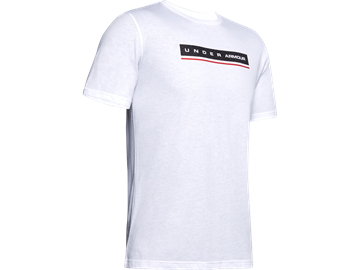 Immagine di UNDER ARMOUR UOMO T-SHIRT WHITE REFLECTION SS