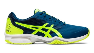 Immagine di ASICS SCARPA UOMO GEL LIMA PADEL MAKO BLUE/SAFETY YELLOW