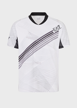 Immagine di EA7 UOMO T-SHIRT VENTUS WHITE FANCY