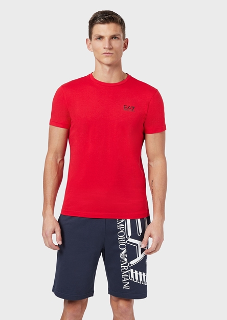 Immagine di EA7 UOMO T-SHIRT BASIC RACING RED