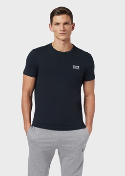 Immagine di EA7 UOMO T-SHIRT BASIC NIGHT BLUE