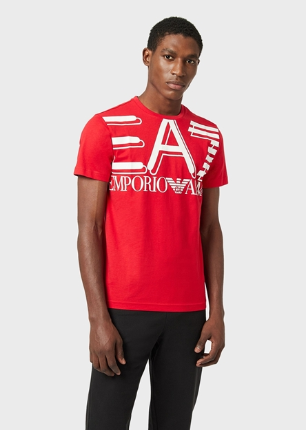Immagine di EA7 UOMO T-SHIRT RACING RED
