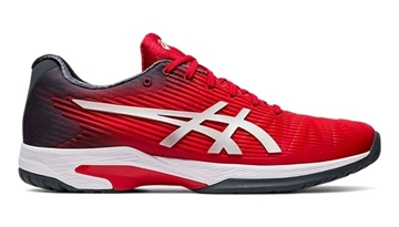 Immagine di ASICS SCARPA UOMO SOLUTION SPEED FF CLAY - CLASSIC RED/PURE SILVER