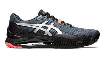 Immagine di ASICS SCARPA UOMO GEL-RESOLUTION 8 CLAY L.E. - BLACK/SUNRISE RED